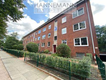 3-Zimmerwohnung mit zwei Terrassen, 22047 Hamburg / Wandsbek, Erdgeschosswohnung